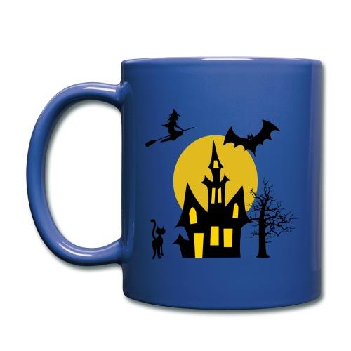 left handed halloween mug - Full Color Mug