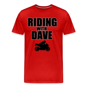 Riding with Dave & Sportbike - Men's Premium T-Shirt