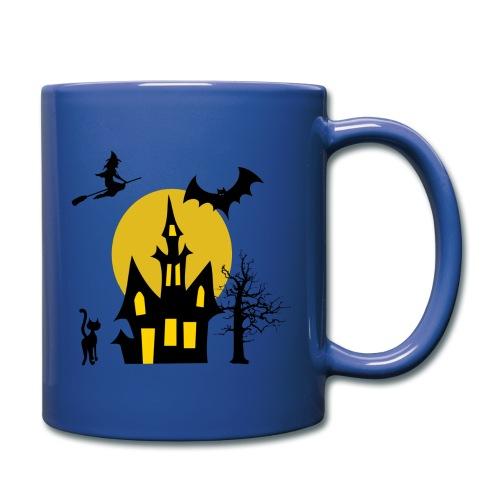 right handed halloweed mug - Full Color Mug