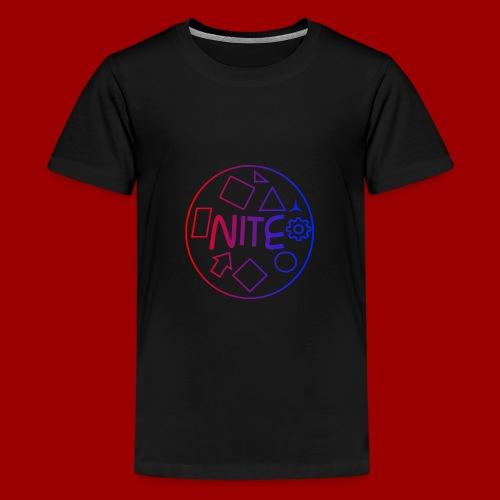 Kids NiteDasher Creative Circle T-Shirt - Kids' Premium T-Shirt