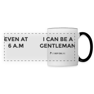 6 AM Gentleman - MUG - Panoramic Mug