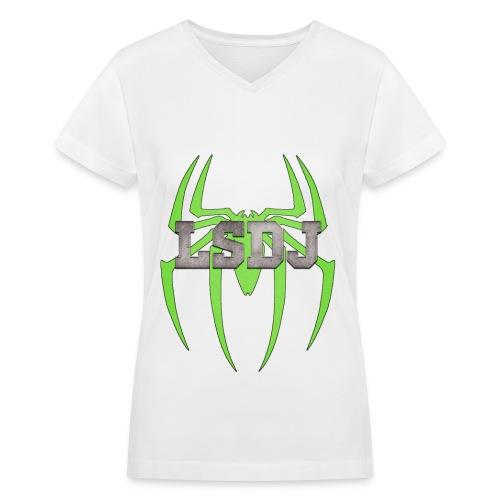 LSDj Women's V- Neck  - Women's V-Neck T-Shirt