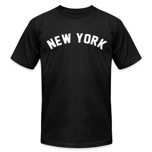 NEW YORK Tee - Men's T-Shirt by American Apparel
