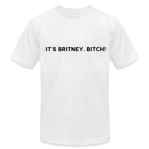 IT'S BRITNEY BITCH! - Men's T-Shirt by American Apparel