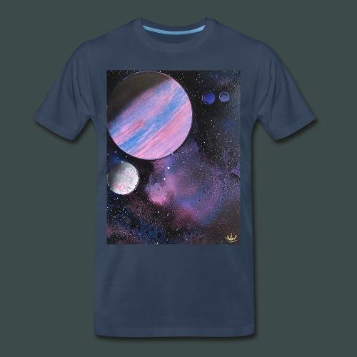 Burnt Space T-Shirt - Men's Premium T-Shirt