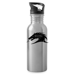 Silver Waterbottle | Dragon Head - Water Bottle