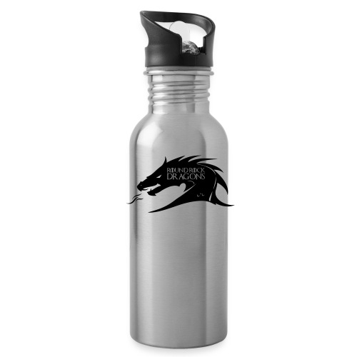 Silver Waterbottle | Dragon Head - Water Bottle