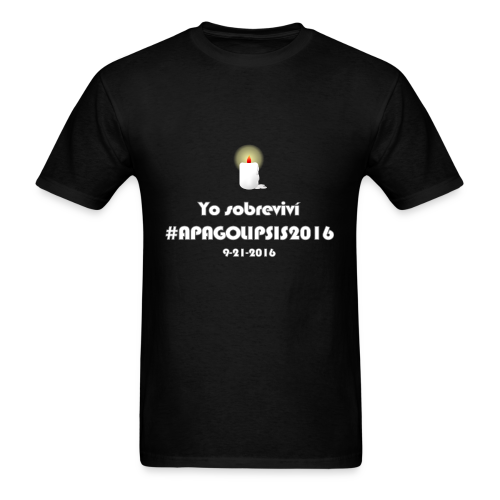 Apagolipsis2016 TShirt - Female - Men's T-Shirt