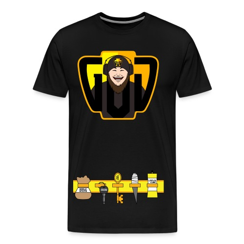 Lewd And GUD Approved T-Shirt | Limited Time | Twitchcon 2016 Shirt - Men's Premium T-Shirt