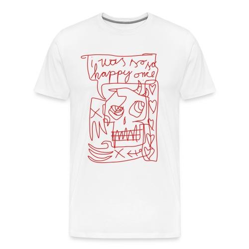 so happy - Men's Premium T-Shirt