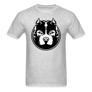 Men's T-Shirt American Bully Head - Men's T-Shirt
