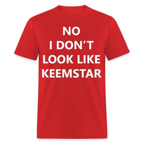 Keemstar Men's T-Shirt (Red) - Men's T-Shirt