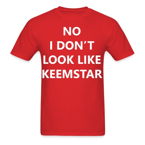 Keemstar Men's T-Shirt (Red) - Men's T-Shirt