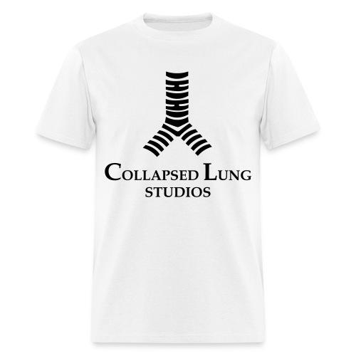 Collapsed Lung Studios Logo Men's T-Shirt (White) - Men's T-Shirt