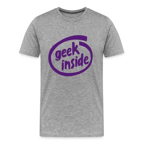 geek inside - Men's Premium T-Shirt