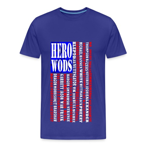 Hero WOD - Men's Premium T-Shirt