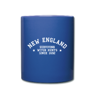 Mugs & Drinkware ~ Full Color Mug ~ New England - Surviving Witch Hunts since 1692