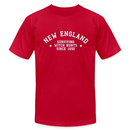 New England - Surviving Witch Hunts since 1692 - Men's Fine Jersey T-Shirt