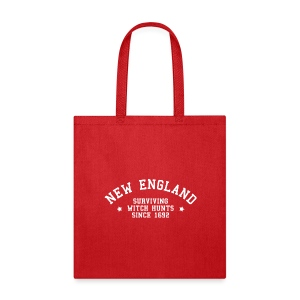 New England - Surviving Witch Hunts since 1692 - Tote Bag
