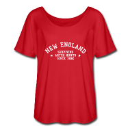 T-Shirts ~ Women's Flowy T-Shirt ~ New England - Surviving Witch Hunts since 1692