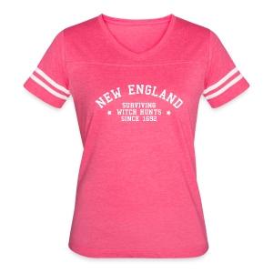 New England - Surviving Witch Hunts since 1692 - Women's Vintage Sport T-Shirt
