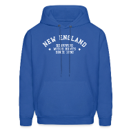 Hoodies ~ Men's Hoodie ~ New England - Surviving Witch Hunts since 1692