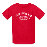Kids' Shirts ~ Kids' T-Shirt ~ New England - Surviving Witch Hunts since 1692