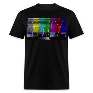Fanley Color Bar Static - Men's T-Shirt