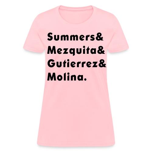 Apellidos para mujer - Women's T-Shirt