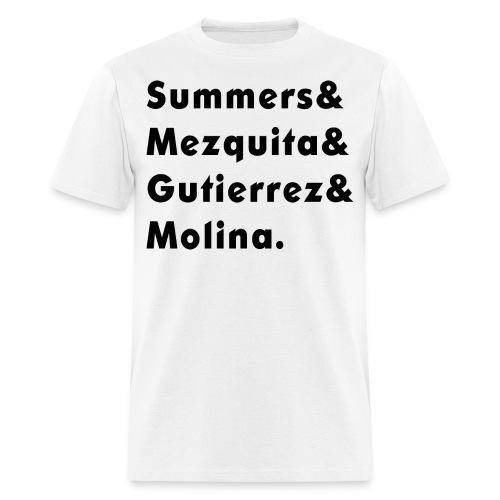 Apellidos para hombre - Men's T-Shirt