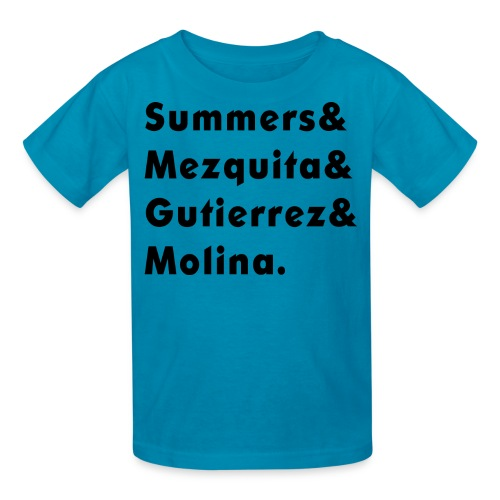 Camiseta Apellidos para niños - Kids' T-Shirt