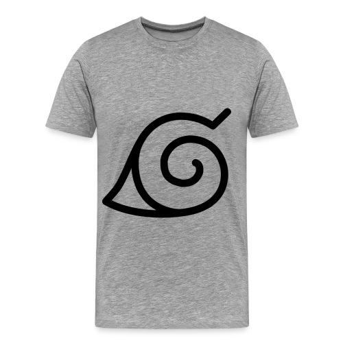 Naruto T-shirt Symbol of Konoha Village - Men's Premium T-Shirt