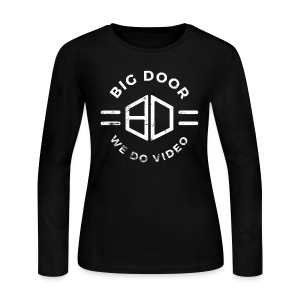 Big Door - Women's Long Sleeve Jersey T-Shirt