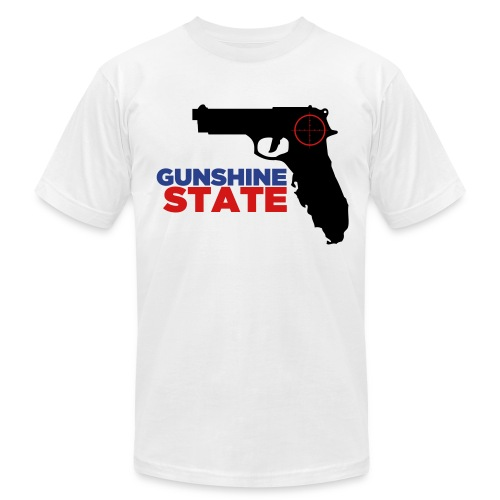 Gunshine State T-Shirt - Men's Fine Jersey T-Shirt