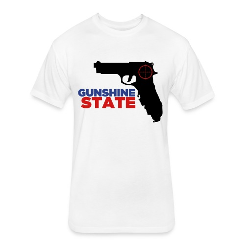 Gunshine State T-Shirt - Fitted Cotton/Poly T-Shirt by Next Level