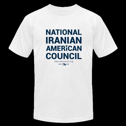 NIAC Star Shirt (White) - Men's Fine Jersey T-Shirt