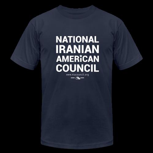 NIAC Star Shirt (Blue) - Men's Fine Jersey T-Shirt