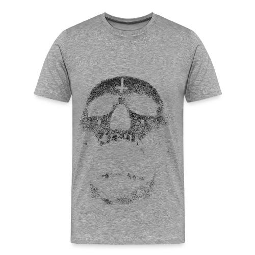 Satanic Skull - Men's Premium T-Shirt