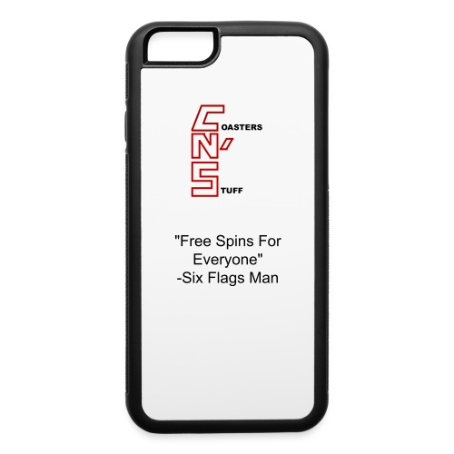 Six Flags Man Quote Iphone 6/6s Case - iPhone 6/6s Rubber Case