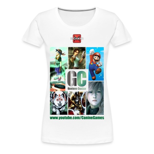 Gustavo Canine Games - Women's Premium T-Shirt