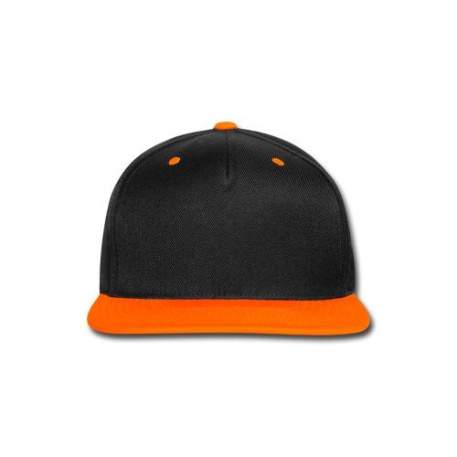 Black And Orange - Snap-back Baseball Cap