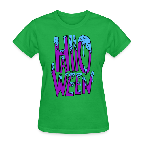 Slime Halloween V.2 - Women's T-Shirt
