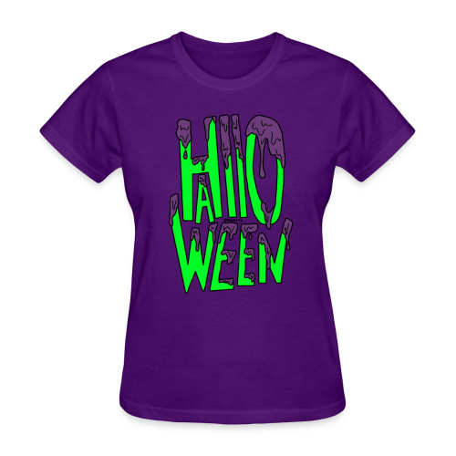 Slime Halloween - Women's T-Shirt