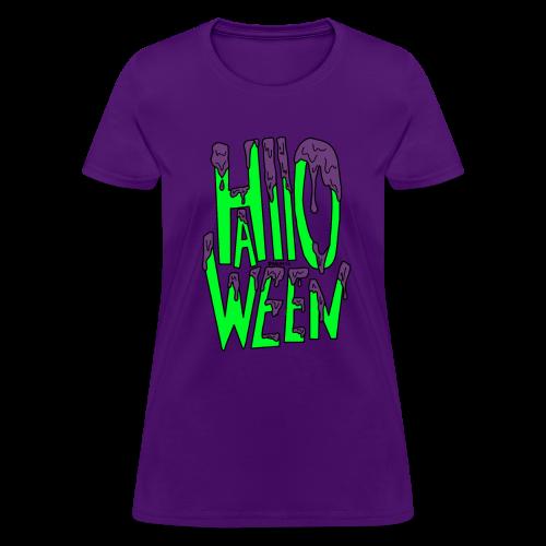 Slime Halloween - Women's T-Shirt