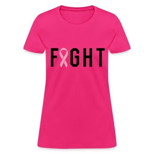 Breast Cancer Fight Shirt - Women's T-Shirt