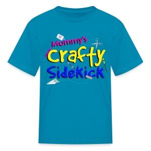 Mommy's Crafty Sidekick Tee - Kids' T-Shirt