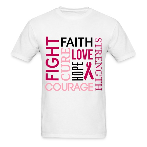 Breast Cancer Awarness - Men's T-Shirt