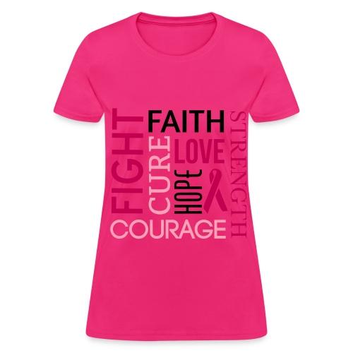 Breast Cancer Awareness 2 - Women's T-Shirt