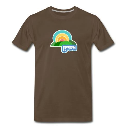 Retro Branson - Men - Men's Premium T-Shirt