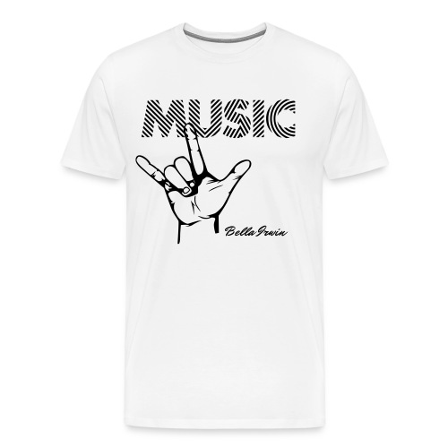 Bella Irwin Music Tee - Men's Premium T-Shirt
